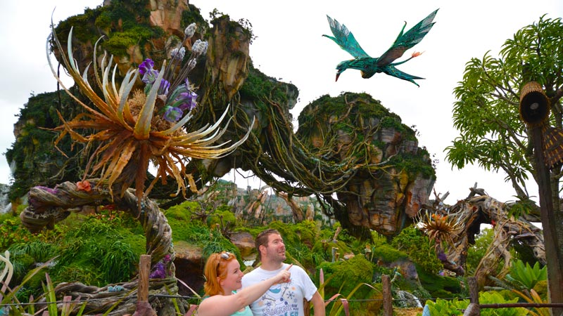 Avatar Photopass Banshee Shot