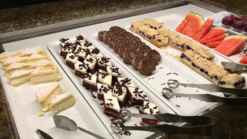 Desserts at Biergarten