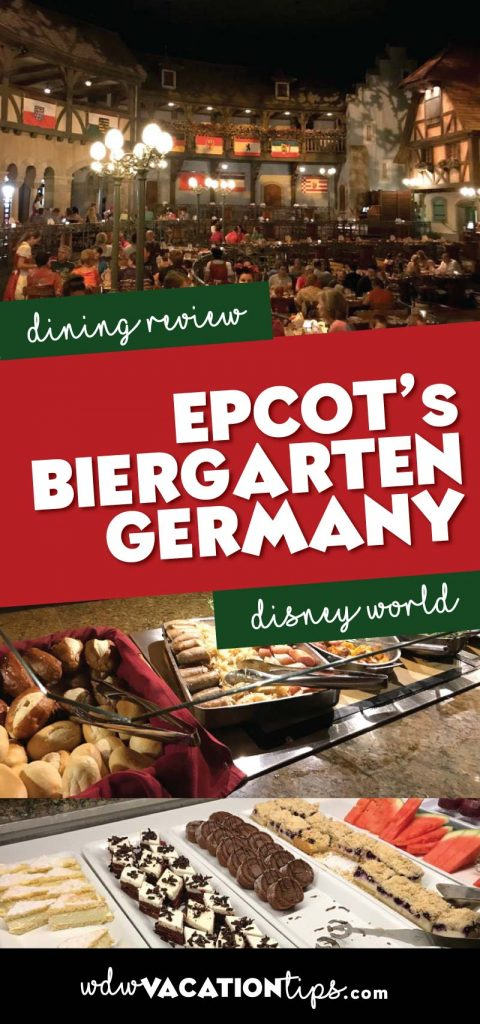 Biergarten dining review
