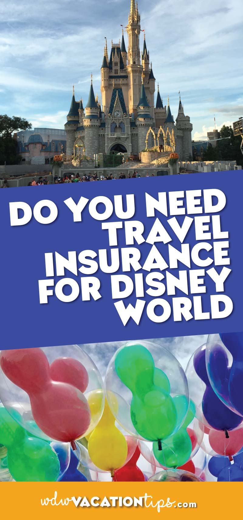 I know travel insurance for a Disney vacation can seem like just one more expense but before you decided you should read over why you may end up needing insurance and what travel insurance options are available to you when traveling to Disney World.