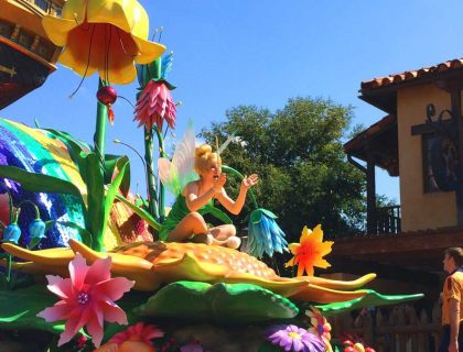 Festival of Fantasy at the Magic Kingdom.