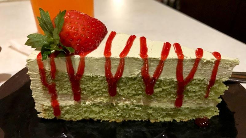 Green Tea Mousse Cake