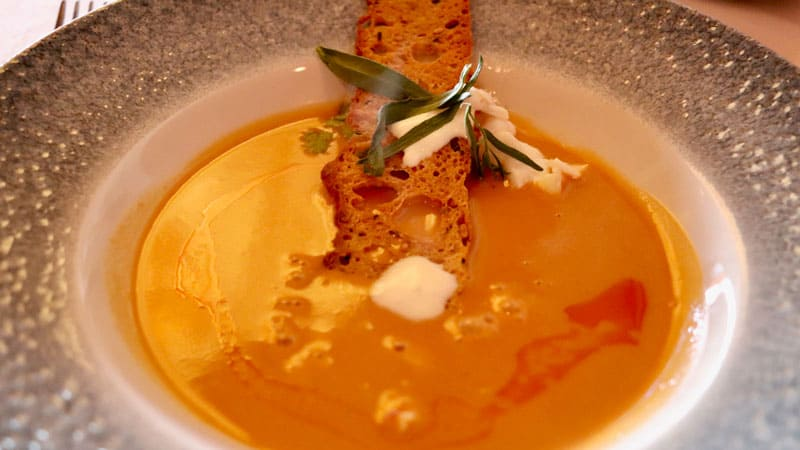 Lobster Bisque Soup Yachtsment Steakhouse Disney World