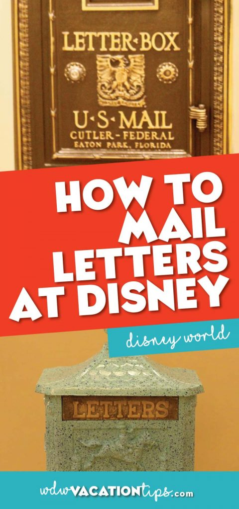 How to mail letters at Disney World