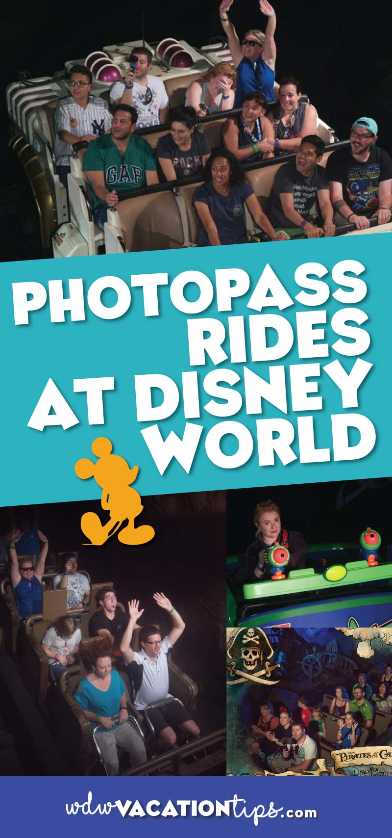 whether you have a Memory Maker package, are an Annual Passholder, or are willing to pay for a picture or two you won't want to miss these attractionswith on ride photos at Disney World.