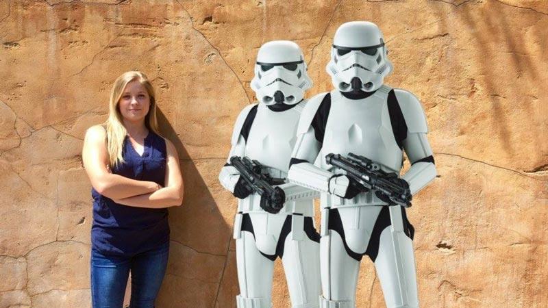 Must Do PhotoPass Spots at Disney World Storm Trooper Magic Shot at Hollywood Studios.