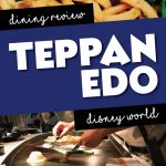 Teppan Edo dining review. Located in Epcot at Walt Disney World.