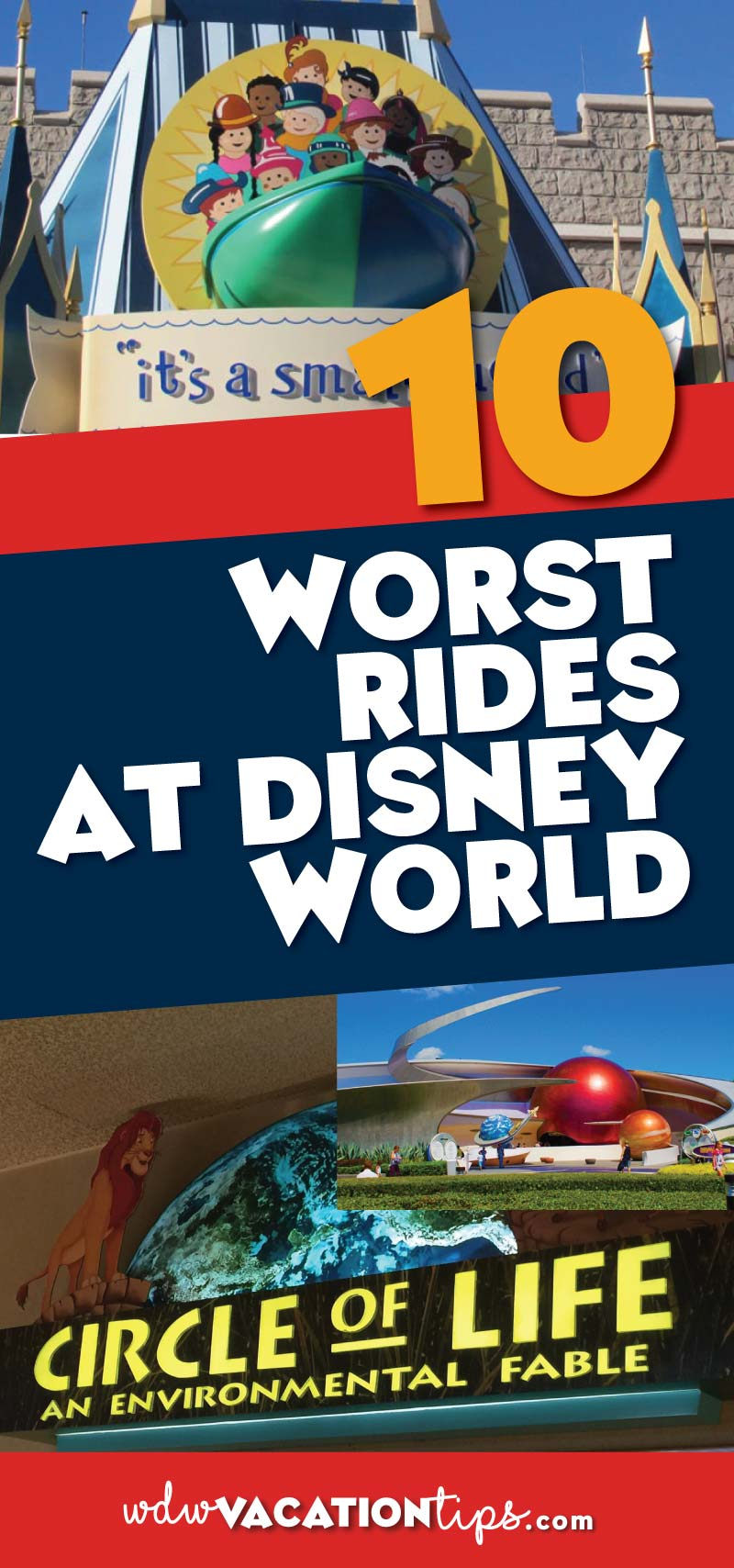 I love Disney to death don't get me wrong but there are some attractions that just don't compare to the rest. Today we are covering ten rides that are the worst attractions at Disney World.