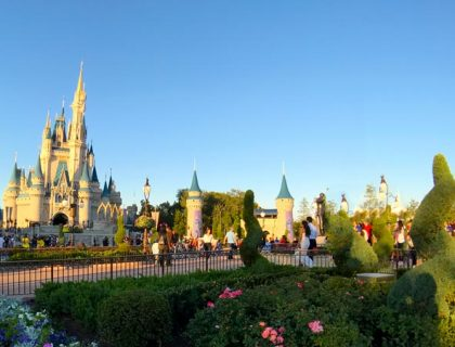 Cinderella's Castle at the Magic Kingdom
