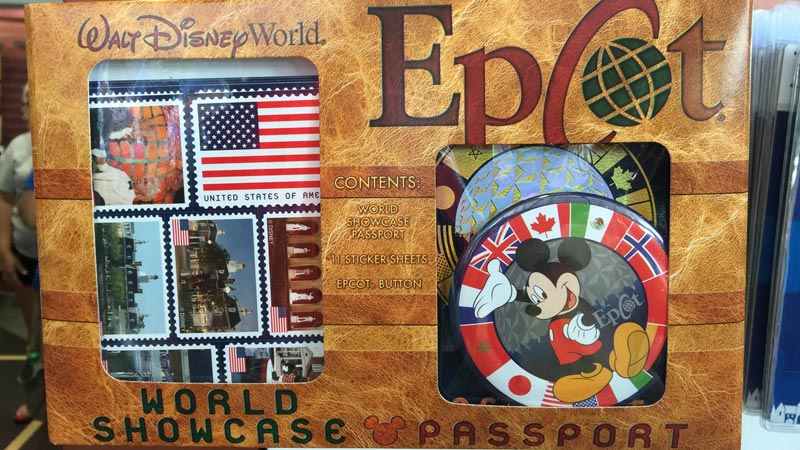 Epcot Country Passport