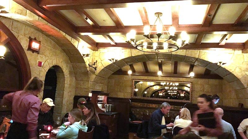 Inside Le Cellier Epcot Disney World