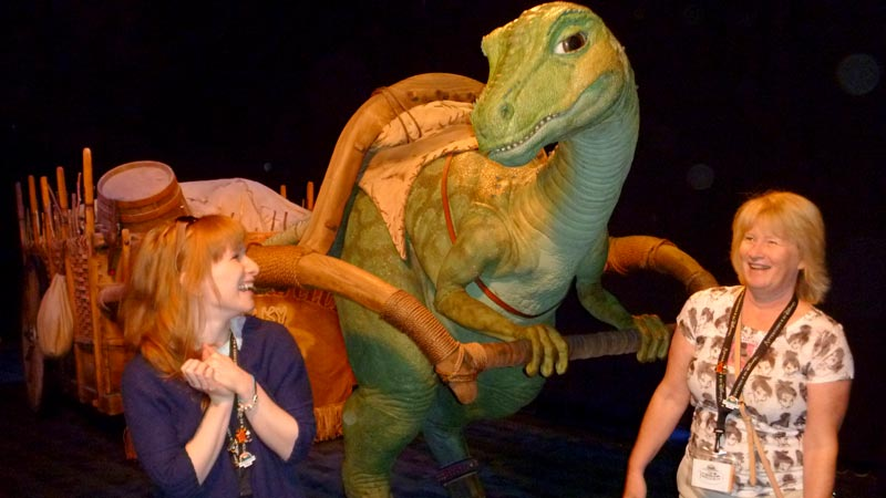 Disney Imagineering Lucky the Dinosaur