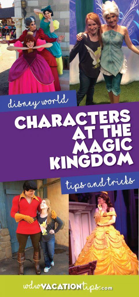 Magic Kindom Disney Characters you can meet