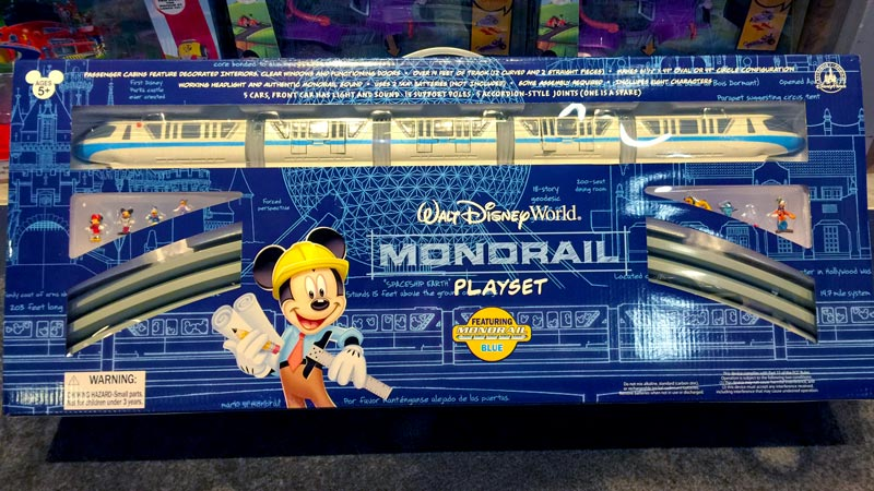 disney world monorail playset
