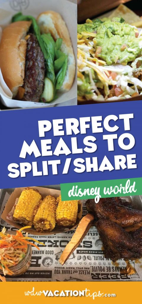 The perfect meals to split at Disney World