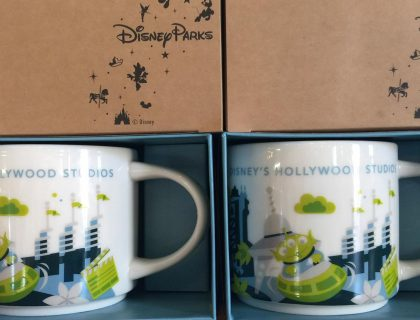 starbucks you are here mug hollywood studios