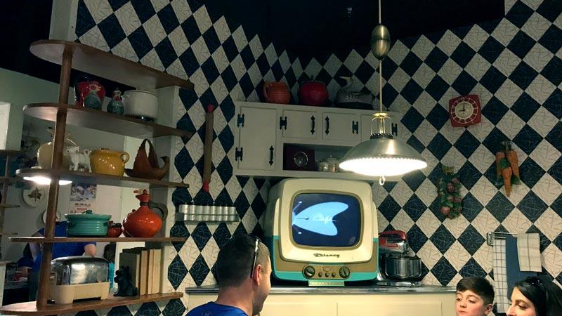 Inside 50's Prime Time Cafe