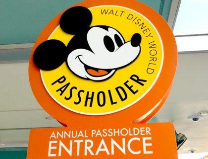 disney annual passholder entrance