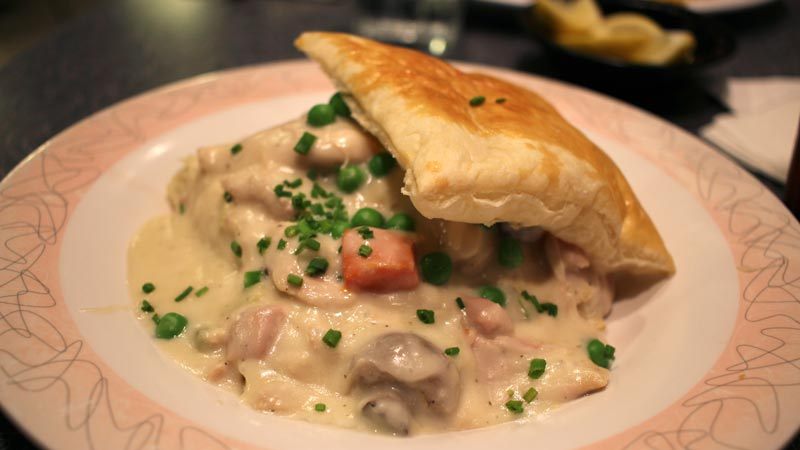 Chicken Pot Pie from 50's Prime Time Cafe, Hollywood Studios Walt Disney World