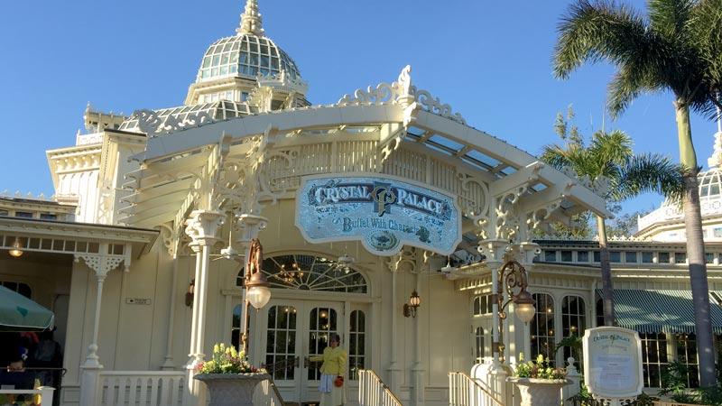 Crystal Palace Magic Kingdom