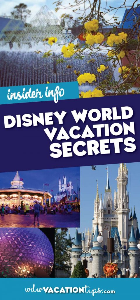 Disney World Vacation Secrets