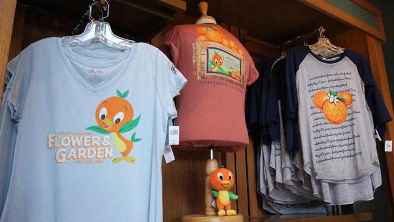 Orange Bird 2018 Flower and Garden Merchandise