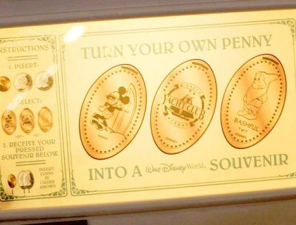 Where to Find Pressed Penny Machines in Disney World 6