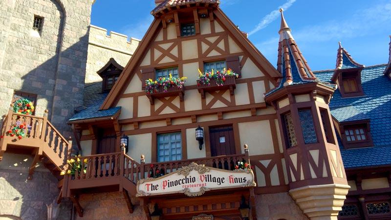 Pinocchio's Village Haus