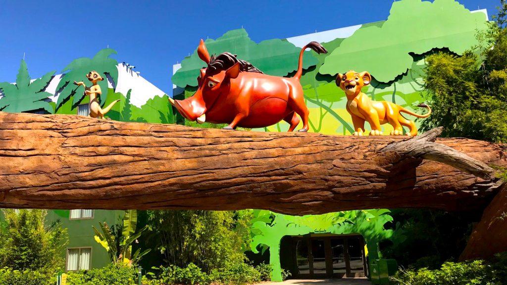 Timon Pumba Art of Animation