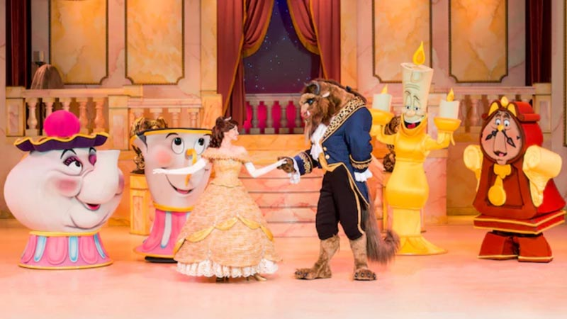 Beauty and the Beast Live Onstage