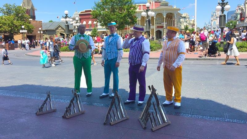 Dapper Dans at the Magic Kingdom