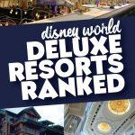 Disney World deluxe resorts ranked