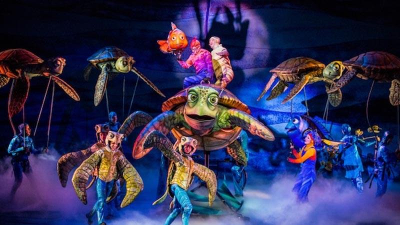 Finding Nemo Show at Animal Kingdom
