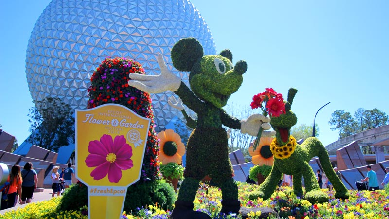 mickey flower and garden epcot