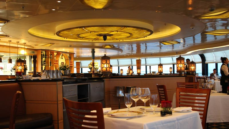Inside Palo on Disney Magic Ship