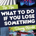 What to do if you lose something at Disney World
