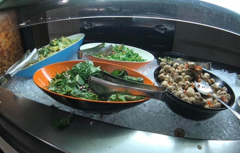 Trails End Buffet Salad Options