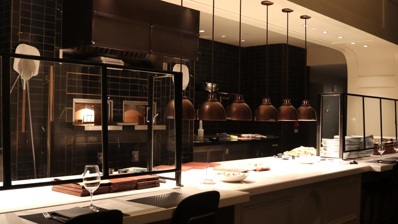 Kitchen at Ale and Compass