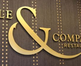 Ale and Compass Dining Review at Disney's Yacht Club