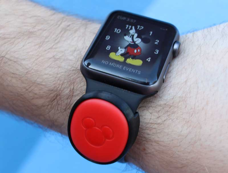 Magicband holder for your watch