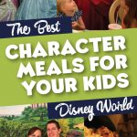 best of Disney World character dining