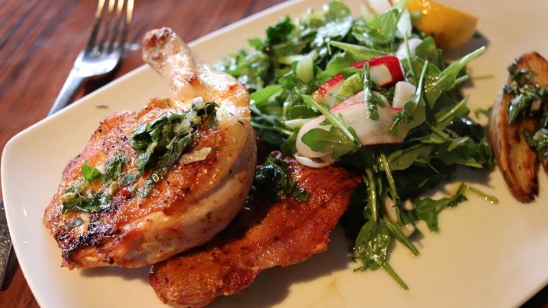 Pan-roasted Free-range Chicken