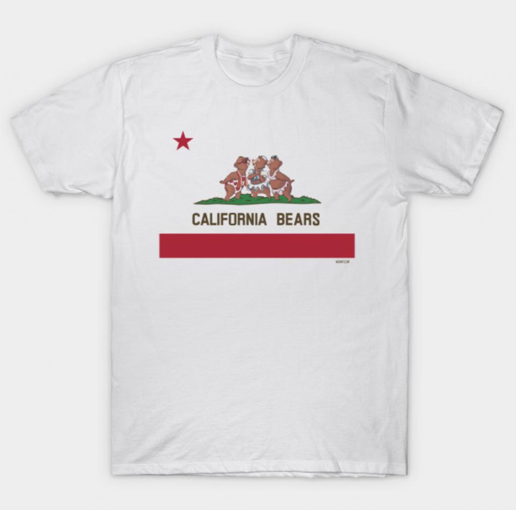 California Bears Tee Shirt