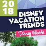 Disney 2018 vacation trends
