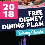 Free 2018 Disney Dining Plan