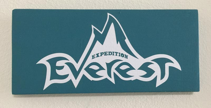 Expedition Everest Wooden Sign