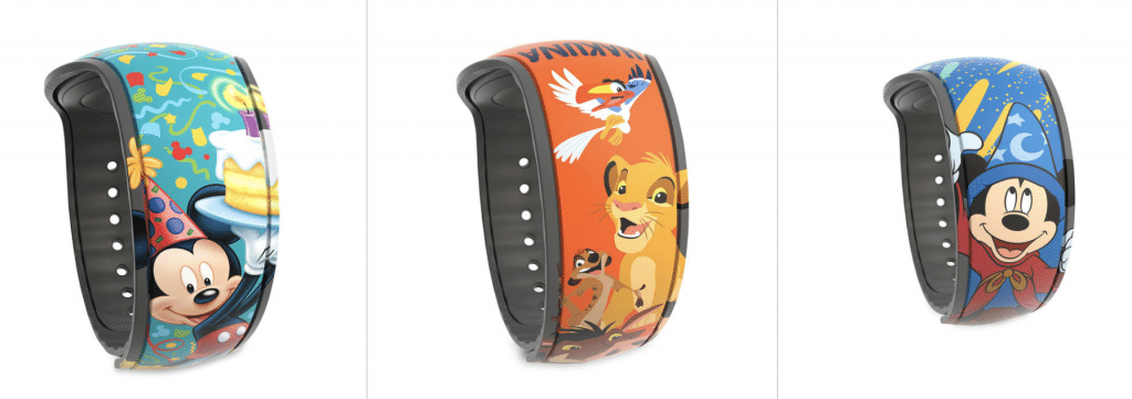 Disney MagicBand Designs