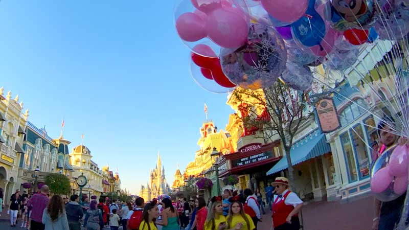 Main Street Magic Kingdom