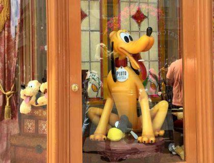 Main Street Magic Kingdom Shop Window