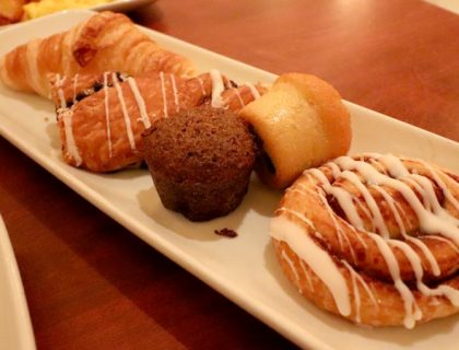 Pastries from Be Our Guest
